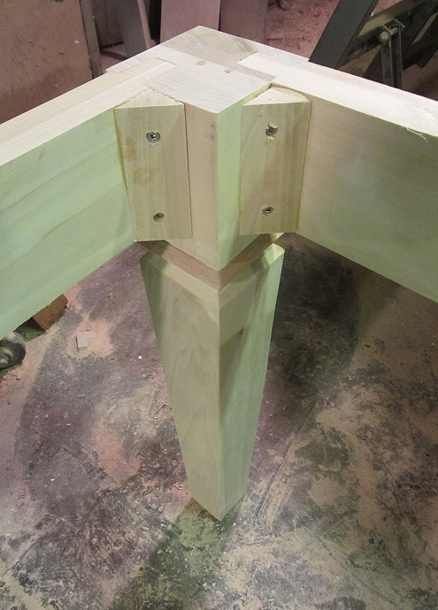 Kitchen Table Plans Mortise